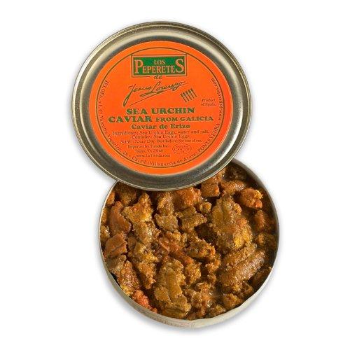 Los Peperetes Caviar de Erizo - Premium Galician Sea Urchin Roe (5.3oz/150g Tin)