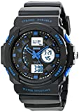 SKMEI Mens Military Sport Wrist Watch, Black