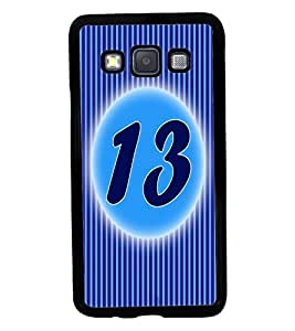 Fuson 2D Printed Numerology Designer back case cover for Samsung Galaxy A3 A300F - D4231