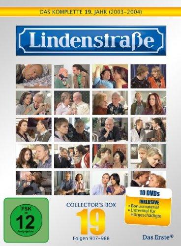 Die Lindenstraße - Das komplette 19. Jahr, Folgen 937-988 (Collector's Box,10 Discs)