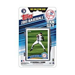 MLB New York Yankees 2011 Topps Team Sets