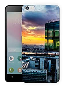 """Humor Gang High Rise Building Printed Designer Mobile Back Cover For """"Huawei Honor 4X"""" (3D, Matte, Premium Quality Snap On Case)"""