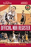 img - for Official NBA Register : Every Player, Every Stat book / textbook / text book