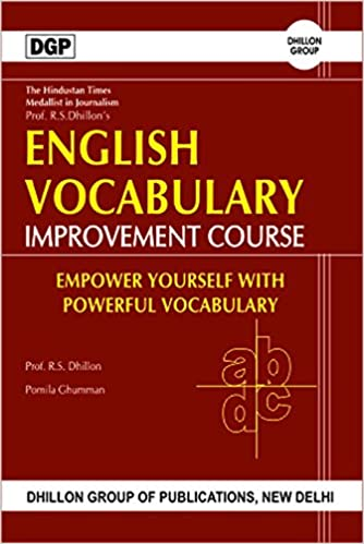 Buy English Vocabulary Improvement Course Book Online at Low ...