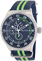 Nautica Unisex N14666G NST 17 Multi Function Watch