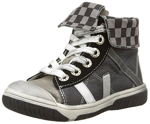 Babybotte - Artiste1, Sneakers per bambini e ragazzi, grigio (392 gris/noir), 19