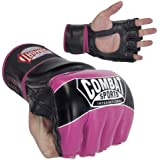Combat Sports Youth Pro Style MMA Muay Thai Grappling Training Sparring Kids Half Mitts Gloves