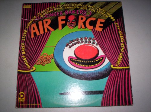 Ginger Baker's Air Force by Ginger Baker's Air Force, Ginger Baker, Steve Winwood and Denny Laine
