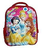 #9: Worldcraft 3D Princess 13 inch Red Waterproof Children's Backpack (Pre School)