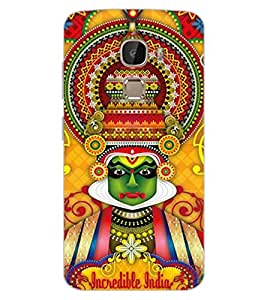 ColourCraft Incredible india Design Back Case Cover for LeEco Le 2