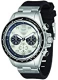 Vestal Men's ZR2CS01 ZR-2 Rubber Chronograph Stainless Steel Watch