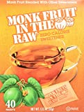 In The Raw - Monk Fruit In The Raw Natural Sweetener - 40 Packet(s), 1.12 oz (32g)