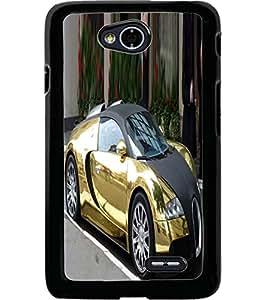 ColourCraft Aristocrat Car Design Back Case Cover for LG L70