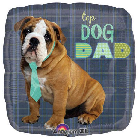 Top Dog Dad Foil Balloon