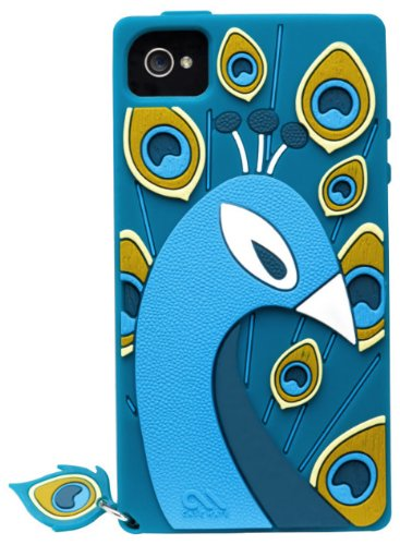 Case-Mate Creatures Peacock Case for Apple iPhone 4/4s - Teal Black Friday & Cyber Monday 2014
