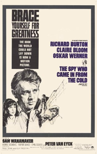 The Spy Who Came In From the Cold Poster Movie 11x17 Richard Burton Oskar Werner Claire Bloom
