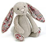 Jellycat - Blossom Bashful Bunny Beige - Baby Soft Toy small - 18cm