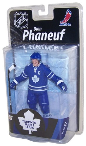 McFarlane Toys NHL Sports Picks Series 27 Action Figure Dion Phaneuf (Toronto Maple Leafs)