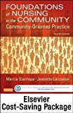 img - for By Marcia Stanhope RN DSN FAAN Community/Public Health Nursing Online for Stanhope and Lancaster: Foundations of Nursing in the Com (4th Edition) book / textbook / text book