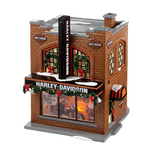 The Original Snow Village from Department 56 Harley-Davidson® Snow Village