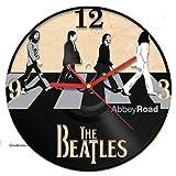 Decorative Unique Modern Wall Clock Vinyl Record John Lennon The Beatle Collection