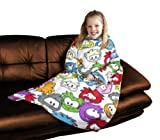 Character World Disney Club Penguin Arctic Sleeved Fleece Blanket
