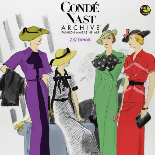 Art Calendar Business Magazine : Conde nast archive fashion magazine art calendar