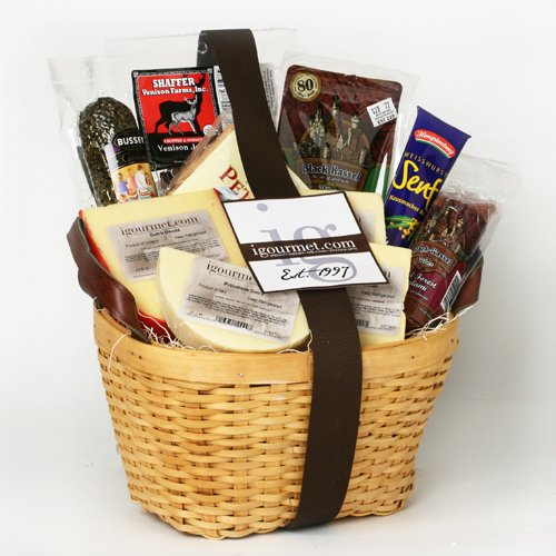 Basket of Meat and Cheese Favorites (5.1 pound)