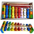 Xylophone for Children With Song Sheet And Wooden Box