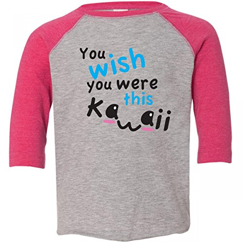 Inktastic Little Boys' You Wish You Were This Kawaii Toddler T-Shirt wish you were here