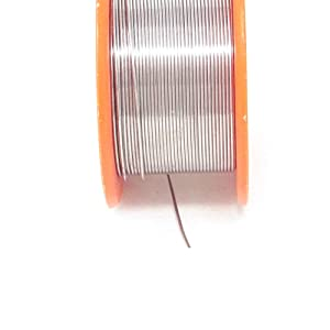yueton Tin Lead Rosin Core Solder 63/37 Active Solder Wire With Resin Core for Electrical Repair Soldering Purpose in 1.8 oz 0.6mm