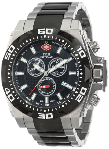 Swiss Precimax Men's SP13187 Quantum Pro Stainless-Steel Band Watch