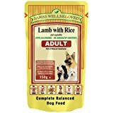 James Wellbeloved Lamb with Rice Adult Pouch 10 x 150g 1500g