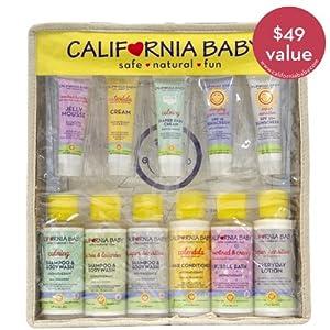 California Baby Eco Traveler Mixed Scent Gift Set