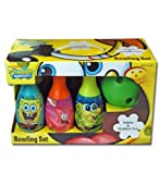 Brand New Sponge Bob Square Pants Toy Bowling Gifts Set