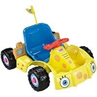 Fisher-Price Power Wheels Spongebob Squarepants Get Set Go! Kart