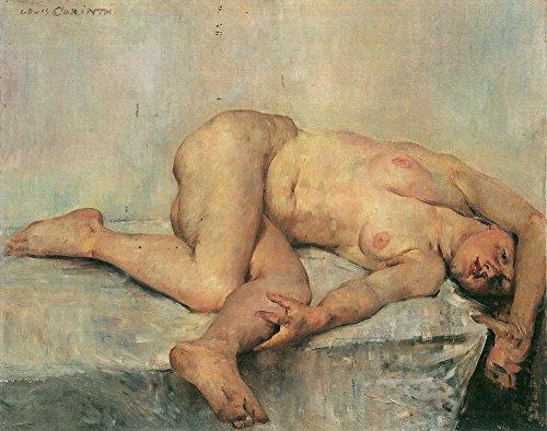 Lovis Corinth - Nude Woman Lying Down - Extra Large - Matte Print