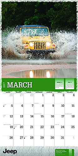 Square Photo New 2017 Jeep Wrangler Wall Calendar
