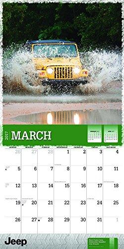 Square Photo New 2017 Jeep Wrangler Wall Calendar