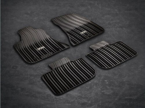 2011 2013 Chrysler 300 Rwd Rubber Floor Slush Mats Black
