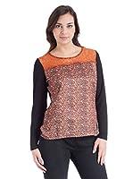 Fiorella Rubino Camiseta Adrina (Negro)