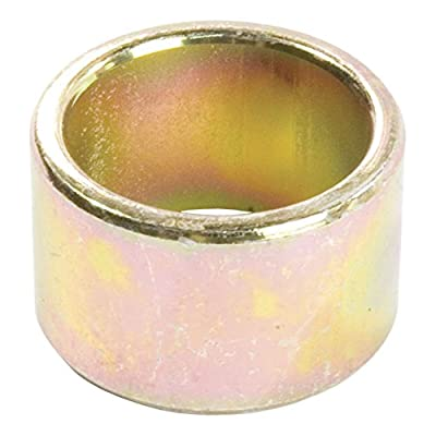 Curt Manufacturing 21201 Reducer Bushing 1 1/4 In To 1 In Yellow Zinc Packaged