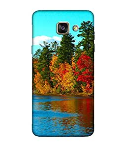 small candy 3D Printed Back Cover For Samsung Galaxy A3 2016 -Multicolor nature