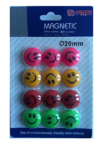 cute-cartoon-smile-face-round-shape-fridge-magnet-colourful-novalty-20mm-whiteboard-magnetshome-kitc