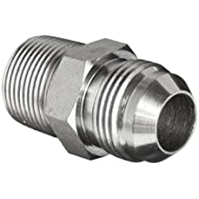 Brennan 2404 Series, Steel JIC Tube Fitting, MJ-MP Adapter, Tube OD x NPTF Male