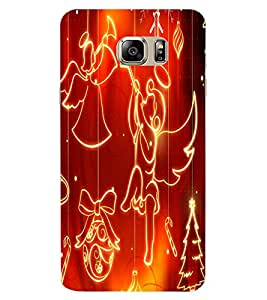 ColourCraft Angel Pattern Design Back Case Cover for SAMSUNG GALAXY NOTE 7 DUOS