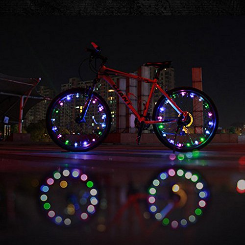 Dbpower Waterproof Shockproof 48 Flash Led Light 2M For Cycling Bike Motor Car Tire Spoke Valve Wheel Cap Alarm Led Neon Light Lamp