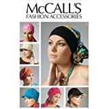 McCall's Patterns M6521 Headband, Head Wraps and Hats, All Sizes