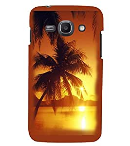 Printvisa Beach Sunset Pic Back Case Cover for Samsung Galaxy Ace 3::Samsung Galaxy Ace 3 S7272