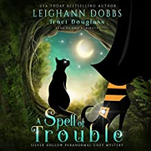 A Spell of Trouble: Silver Hollow Paranormal Cozy Mystery Series, Book 1 Audiobook by Leighann Dobbs, Traci Douglass Narrated by Amy Rubinate